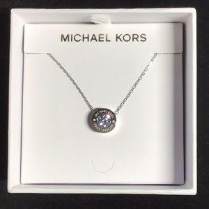 Michael Kors New Pendant Necklace CZ Diamond